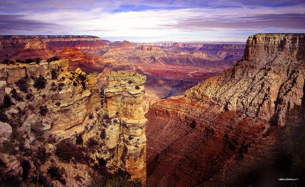 Grand Canyon Blue Water by martinsullivandesign.com