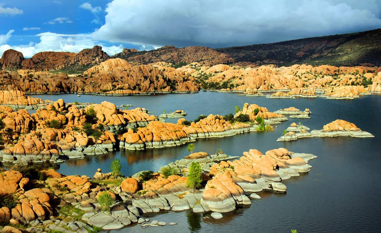 Watson Lake, Prescott Arizona by martinsullivandesign.com