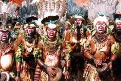Papua New Guinea Goroka Sing-Sing by Martin Sullivan