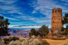 Grand Canyon Landmark Tower by Martin Sullivan