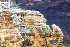 Grand Canyon-Snow Crests by Martin Sullivan