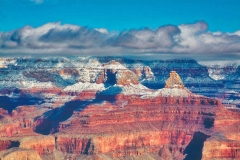 Grand Canyon-Snow Clouds by Martin Sullivan