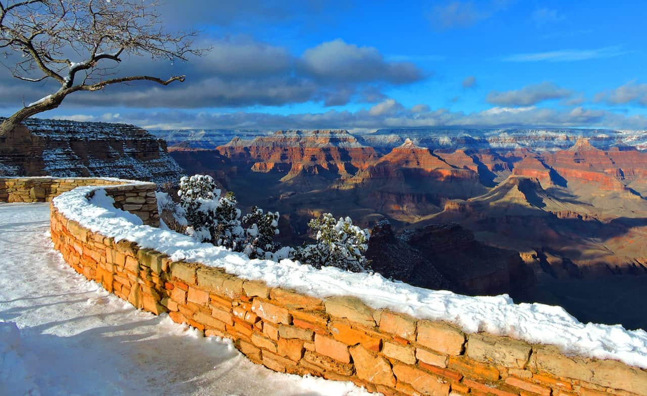 Grand Canyon Winter Vision by martinsullivandesign.com