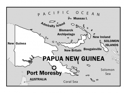 Papua New Guinea-South Pacific-Port Moresby