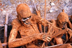Papua New Guinea-The Iseiki Tribe Burial Ritual-by Martin Sullivan