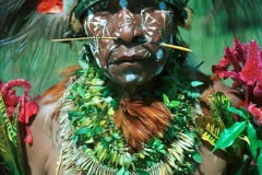 Papua New Guinea Female-Goroka Highlands Sing-Sing by Martin Sullivan