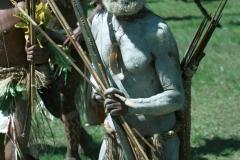 Papua New Guinea Warrior-Goroka Sing-Sing-by Martin Sullivan
